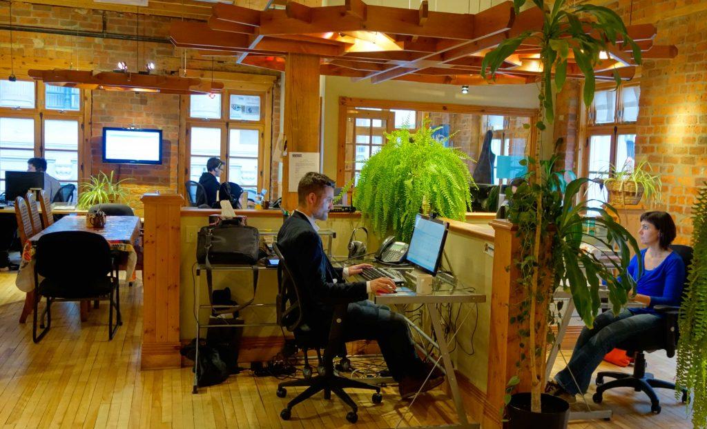 Intérieur des bureaux SVI eSolutions