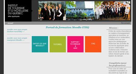 Image du portail de formation ITHQ